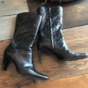 Antonio Melani COLBY A8 leather heeled boots